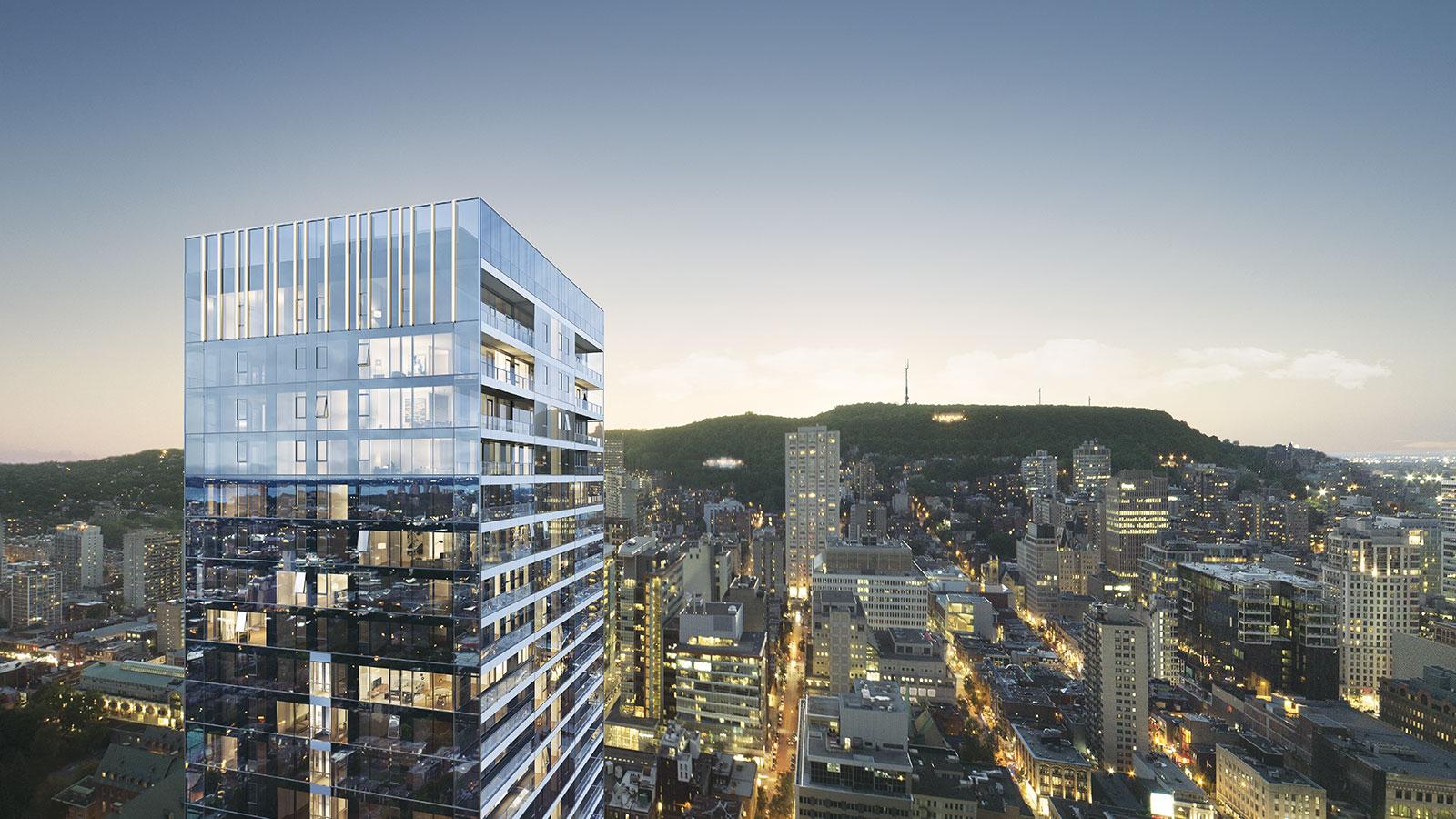 蒙特利尔新公寓项目